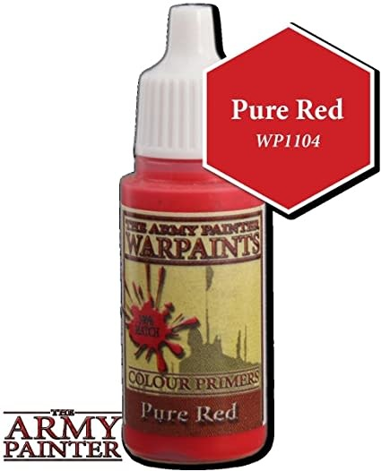 Army Painter Paint 18Ml. Pure Red