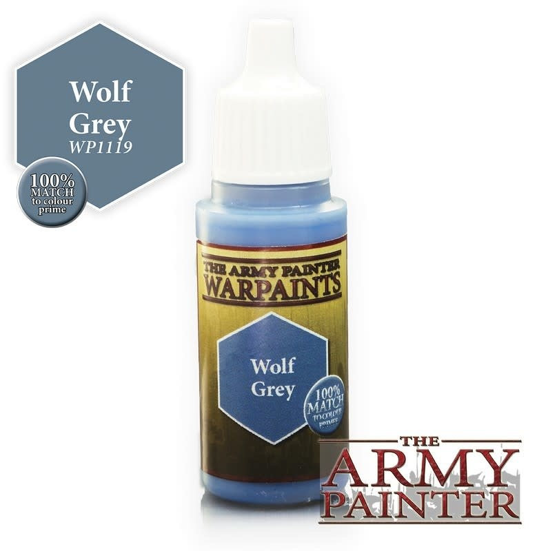 Army Painter Paint 18Ml. Wolf Grey