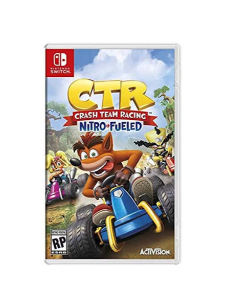 CTR Crash Team Racing Nitro Fueled NEW
