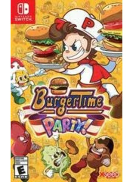 Burgertime Party! NEW