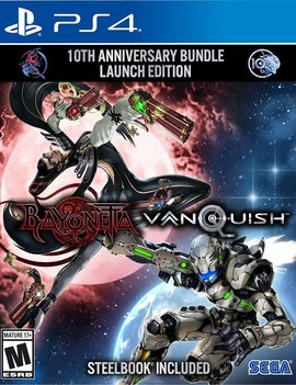Sega Bayonetta & Vanquish 10th Anniversary Bundle