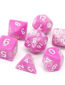 Die Hard Dice RPG SET - Tickled Pink