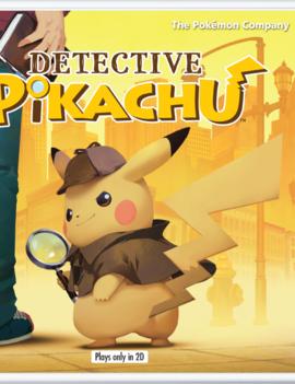 Detective Pikachu NEW