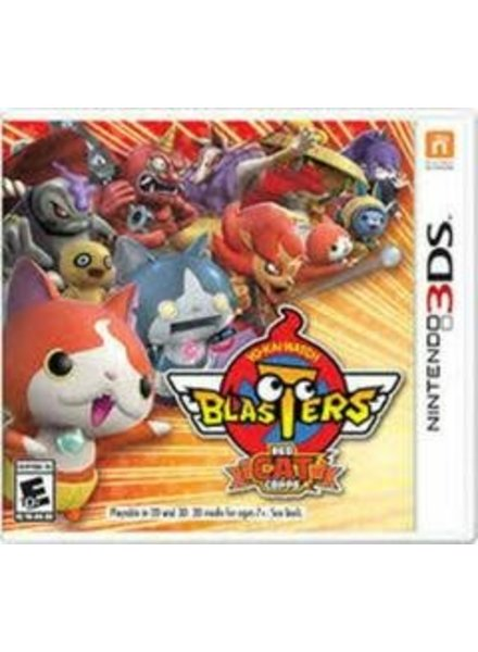 Yo-Kai Watch Blasters: Red Cat Corps NEW