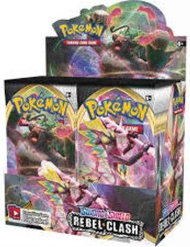 Pokemon TCG Rebel Clash Booster Box