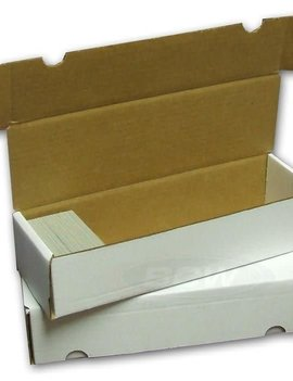 Cardboard Card Box: 660Ct