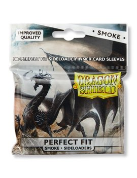 Dragon Shield Dragon Shield Perfect Fit Side Load 100Ct: Smoke