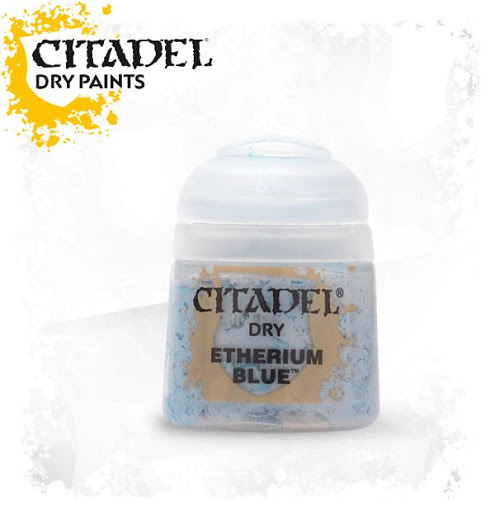 Citadel Paint Dry: Etherium Blue