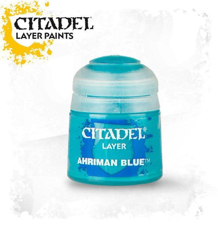 Citadel Paint Layer: Ahriman Blue
