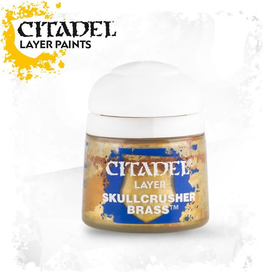 Citadel Paint Layer: Skullcrusher Brass