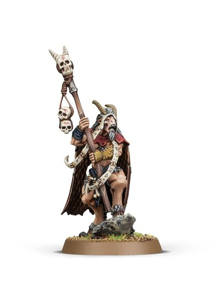 Games Workshop Beasts of Chaos: Great Bray-Shaman