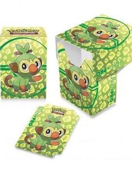 Ultra Pro UP Pokemon Deck Box: Galar Starters Grookey