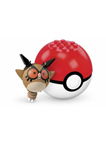 Mega Construx Pokemon Poke Ball Series 4 Hoot Hoot