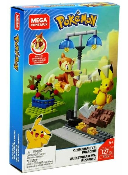 Mega Construx Pokemon: Chimchar Vs Pikachu