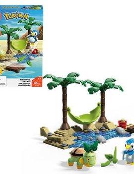 Mega Construx Mega Construx Pokemon: Piplup Vs Turtwig