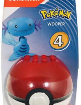 Mega Construx Mega Construx Pokemon: Poke Ball Series 4 Wooper