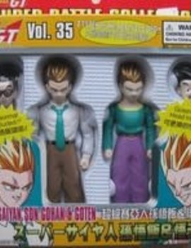 Dragon Ball GT Super Battle Collection Super Saiyan Son Gohan & Goten