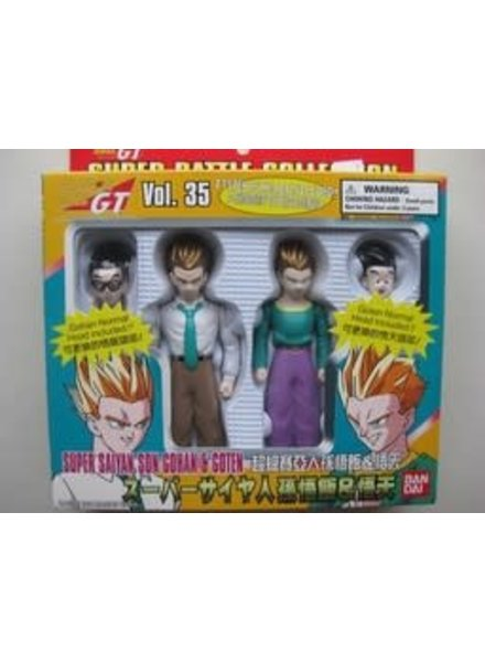 Dragon Ball GT Super Battle Collection Super Saiyan Son Gohan & Goten