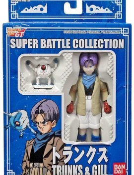 Dragon Ball GT Super Battle Collection Trunks & Gill