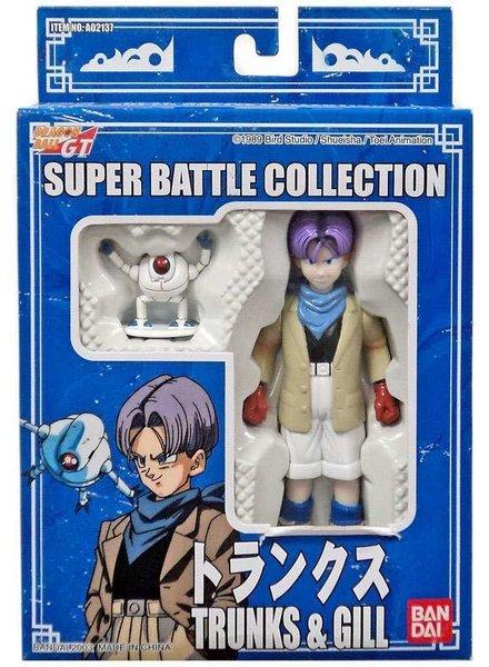 Dragon Ball GT Super Battle Collection Trunks & Gill