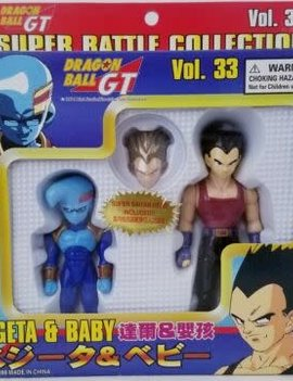 Dragon Ball GT Super Battle Collection Vegeta & Baby