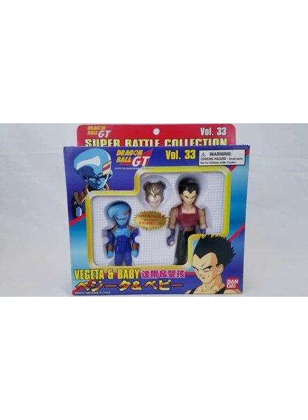 Dragon Ball GT Super Battle Collection Vegeta & Baby