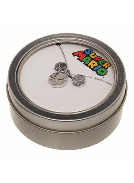 Bumkins Super Mario Jewelry Set Mushrooms