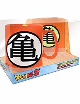 Dragon Ball Z Goku Symbols Mug and Coaster Gift Set