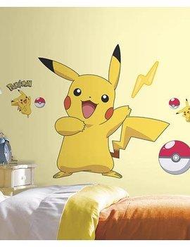 Roommates Pokemon Pikachu Peel and Stick Wall Decal