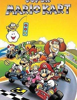24X26 Poster: Super Mario Kart