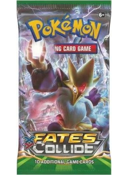 Pokemon TCG Fates Collide Booster Pack