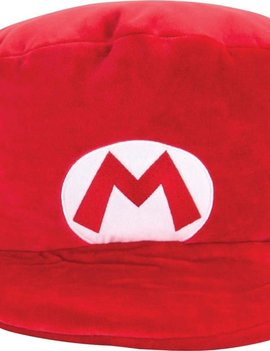 Super Mario Mocchi-Mocchi Mario Hat Large Plush