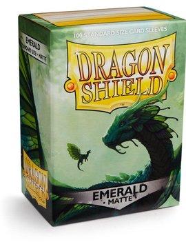 Dragon Shield Dragon Shield Matte 100Ct: Emerald