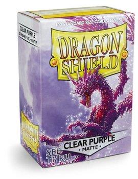 Dragon Shield Dragon Shield Matte 100Ct: Clear Purple