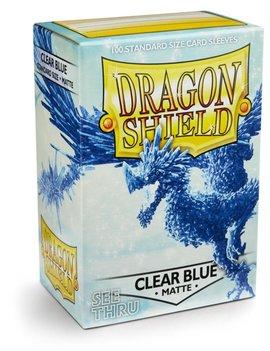 Dragon Shield Dragon Shield Matte 100Ct: Clear Blue
