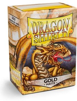 Dragon Shield Dragon Shield Matte 100Ct: Gold