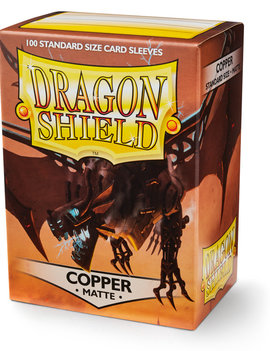 Dragon Shield Dragon Shield Matte 100Ct: Copper