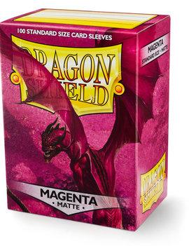 Dragon Shield Dragon Shield Matte 100Ct: Magenta