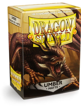 Dragon Shield Dragon Shield Matte 100Ct: Umber