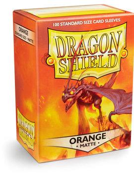 Dragon Shield Dragon Shield Matte 100Ct: Orange