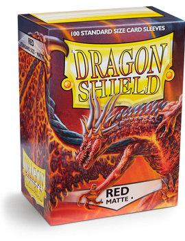 Dragon Shield Dragon Shield Matte 100Ct: Red