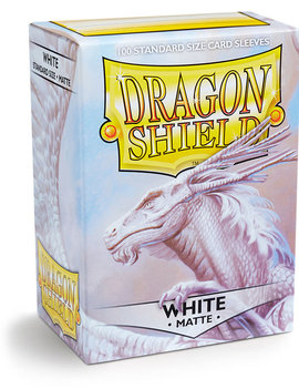 Dragon Shield Dragon Shield Matte 100Ct: White