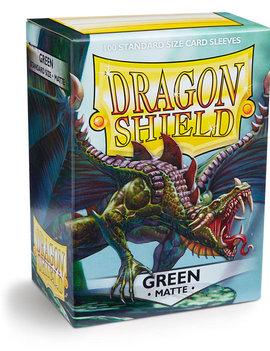 Dragon Shield Dragon Shield Matte 100Ct: Green