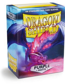 Dragon Shield Dragon Shield Matte 100Ct: Purple