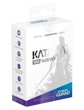 Ultimate Guard UG Katana Sleeves 100Ct: Transparent