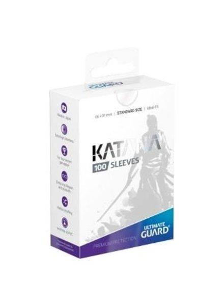 Ultimate Guard UG Katana Sleeves 100Ct: Transparent