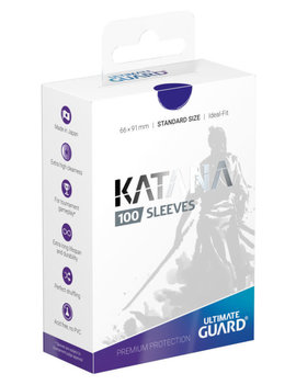 Ultimate Guard UG Katana Sleeves 100Ct: Blue