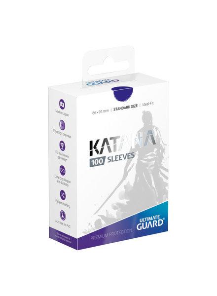 Ultimate Guard UG Katana Sleeves 100Ct: Blue