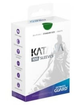 Ultimate Guard UG Katana Sleeves 100Ct: Green