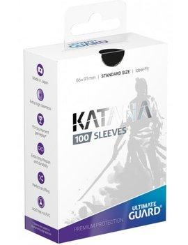 Ultimate Guard UG Katana Sleeves 100Ct: Black